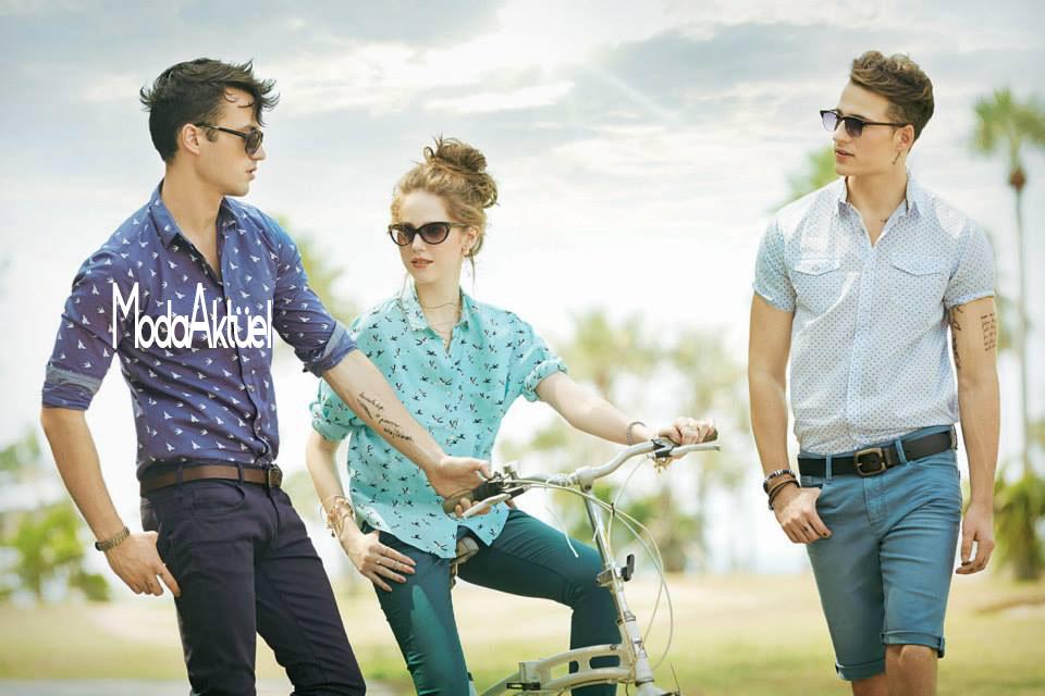 bay ve bayan gömlek modasi