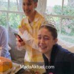 Gigi Hadid evde doğum gününü kutladı
