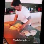 Murat Boz mutfağa girdi