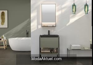 Banyo dekorasyonunda doğru renk seçimi