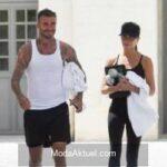 David Beckham ve ailesi İtalya'da tatilde