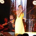 Ebru Gündeş'in sarı elbisesi 17 bin TL