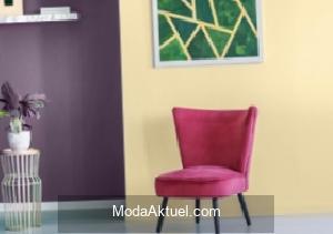 Duvarlarda iki renk kullanımının püf noktaları